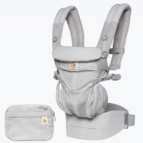 Ергономична раница Ergobaby Omni 360 Pearl Grey Cool Air Mesh