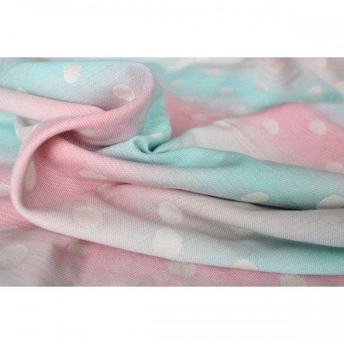 Тъкан слинг Yaro Dots Pastel Rainbow